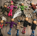 Paracord Keychain People